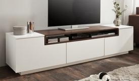 meuble television design 2 portes 1