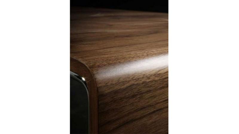 Table Basse Originale Et Moderne Placage Noyer Atoka