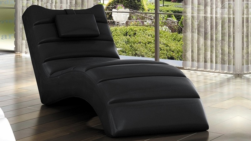 chaise longue relax fauteuil simili