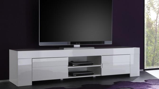 mentalno faktura vremenska serija meuble de television blanc