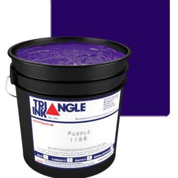 GDM Graphics carries Triangle Ink Purple