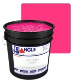 Triangle Ink L.B. Hot Pink by GDM Graphics