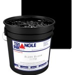 Triangle Inks Black by GDM Graphics