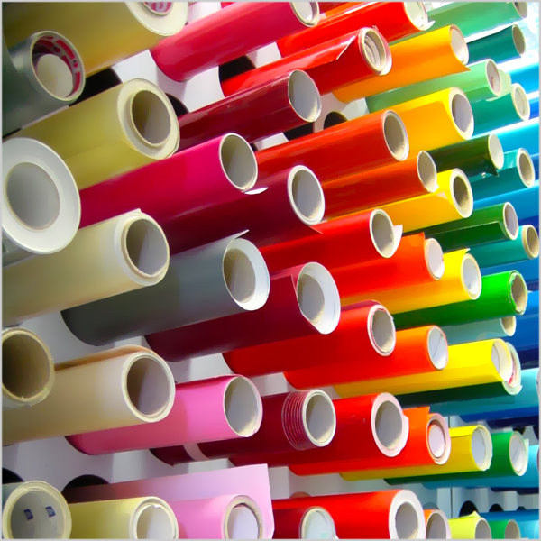 heat transfer vinyl rolls with GDM Graphics