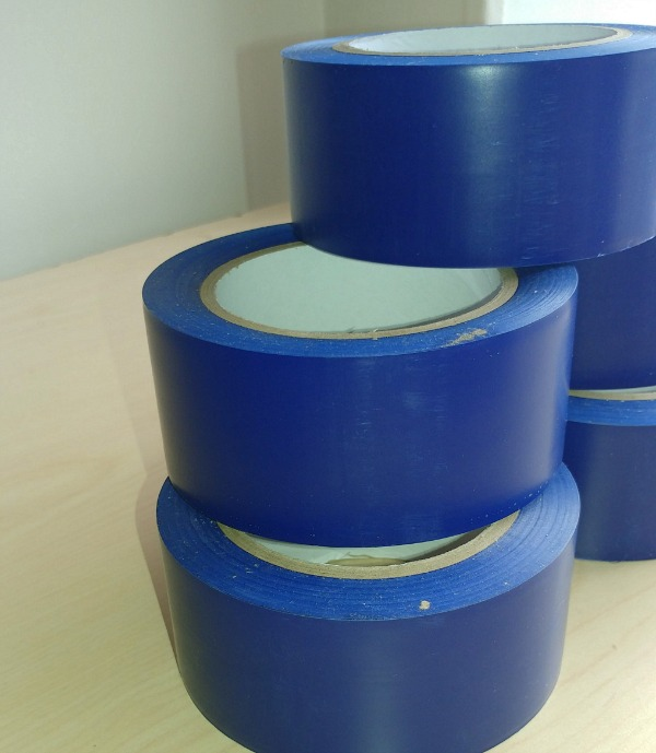Blue Blockout Tape from GDM Graphics, 2-inch, 36 inches long