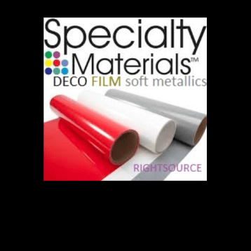 Deco Film Soft Metallics