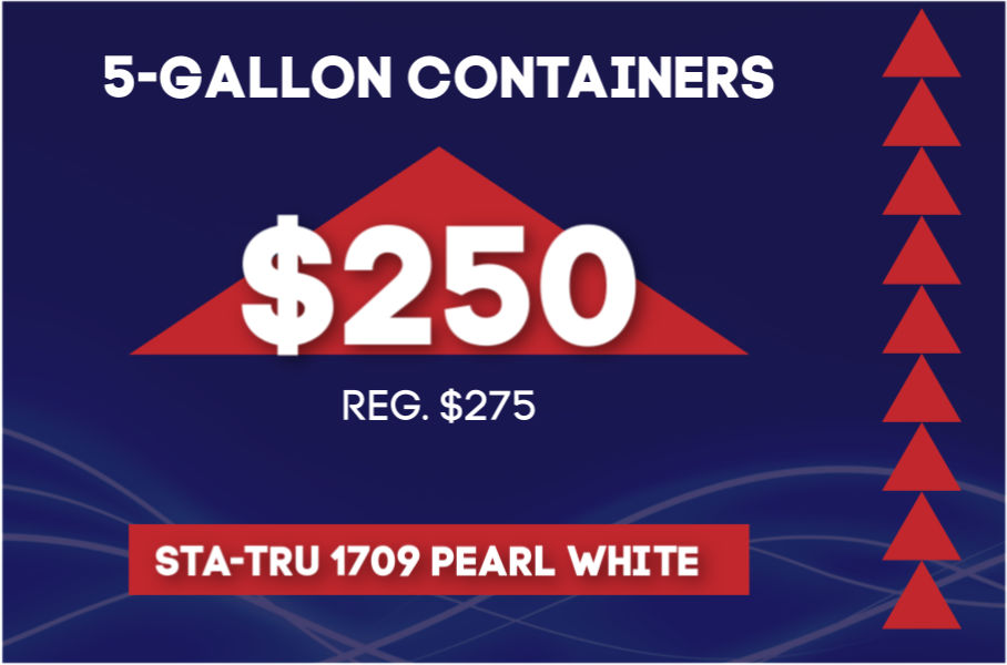 Sta-Tru 1709 Pearl White Triangle Ink on Sale at GDM Graphics