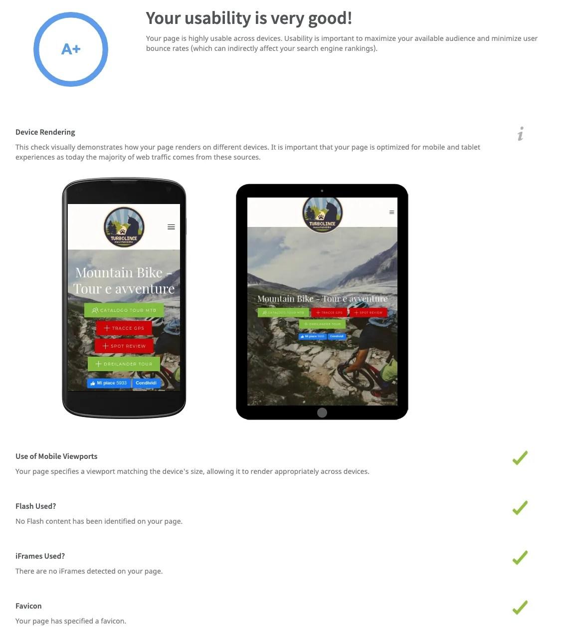 seo audit mobile