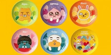 kakao friends plates 7 eleven