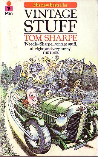 Pan paperback cover of Vintage stuff with illustration by Paul Sample