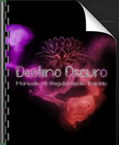 Copertina Destino Oscuro - Regolamento Rapido