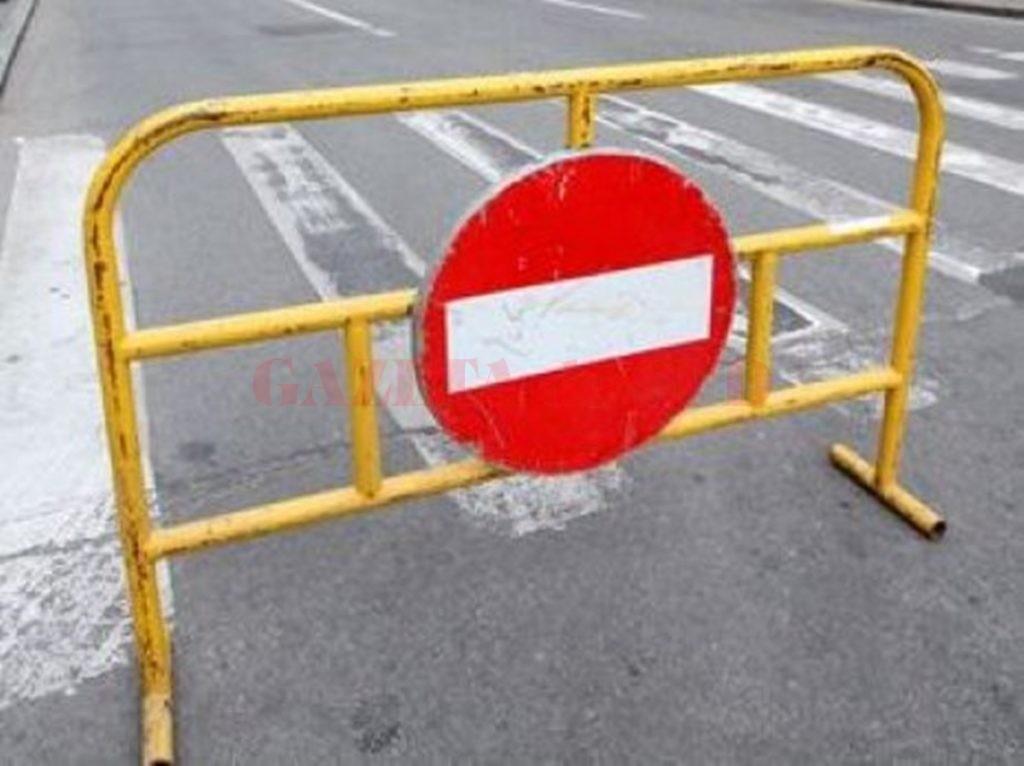 Se va închide circulaţia rutieră pe str. Teilor