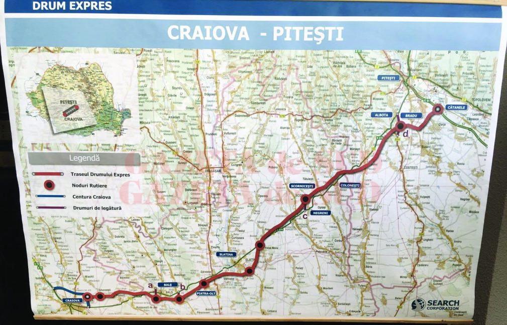 CNAIR a redesemnat câștigătorul pentru proiectarea și execuția tronsonului 4 al Drumului Expres Craiova - Pitești, ultimul rămas neatribuit