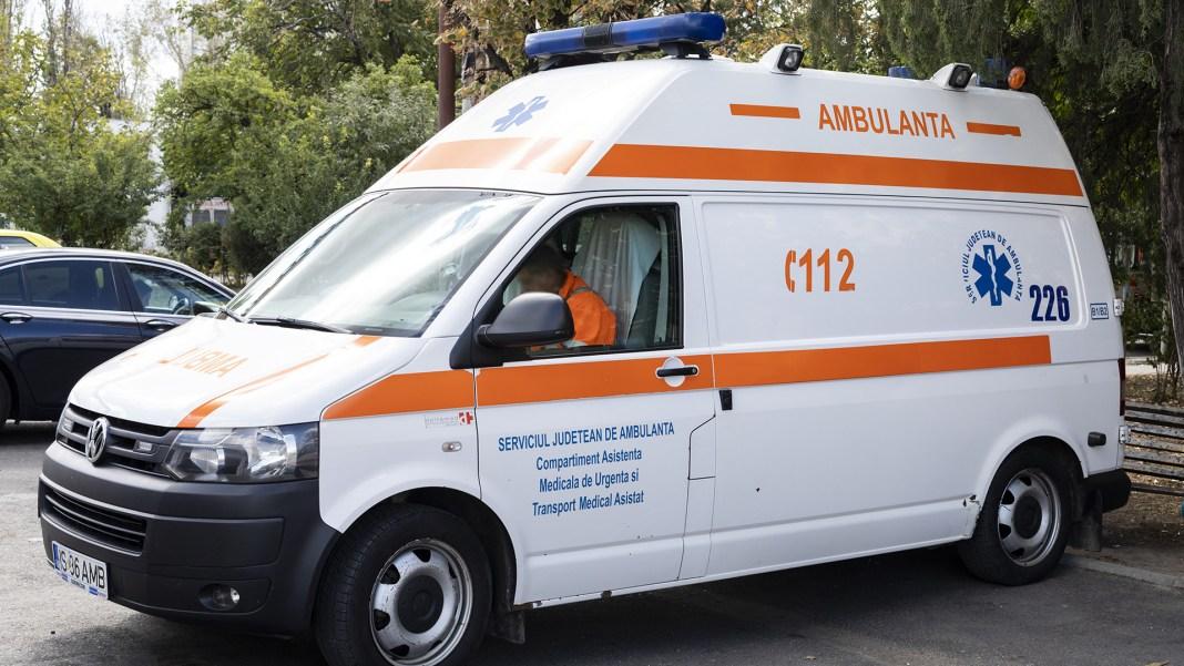 Accident cu 14 victime pe DN2