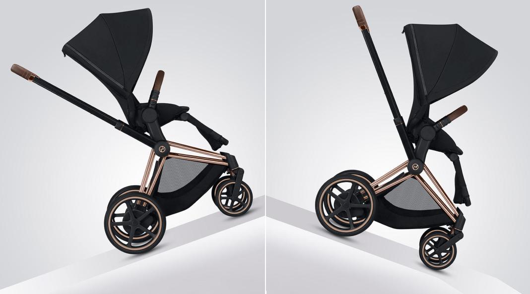 E-Stroller, căruciorul electric pentru copii
