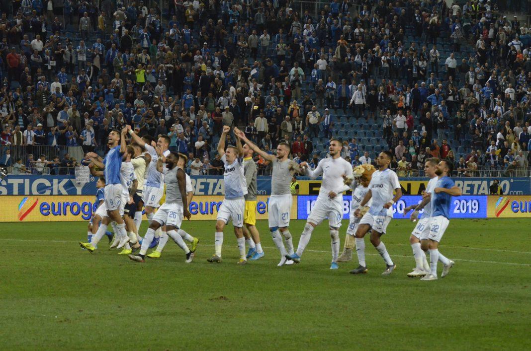 Alb-albaştrii au primit şi aplauze după unele meciuri, dar şi apostrofări (Foto: Alexandru Vîrtosu)