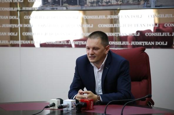 Cosmin Vasile, vicepreşedinte al Consiliului Judeţean Dolj