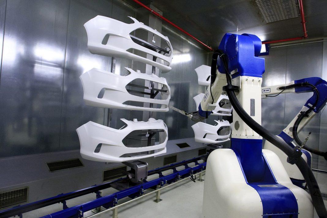 Magna Craiova robot vopsire