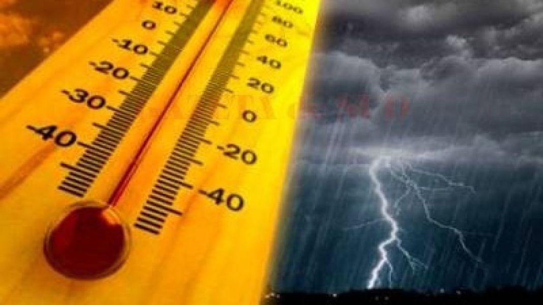 Caniculă și instabilitate atmosferică pentru următoarele ore