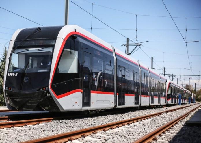Așa arată un tren urban