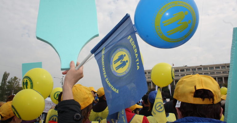 Sindicaliștii din sănătate anunță proteste de amploare