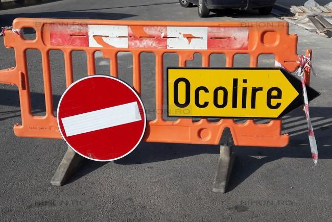 Circulație restricționată pe mai multe străzi din Craiova