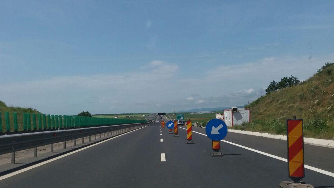 Restricții de circulație pe A1, Sibiu - Deva