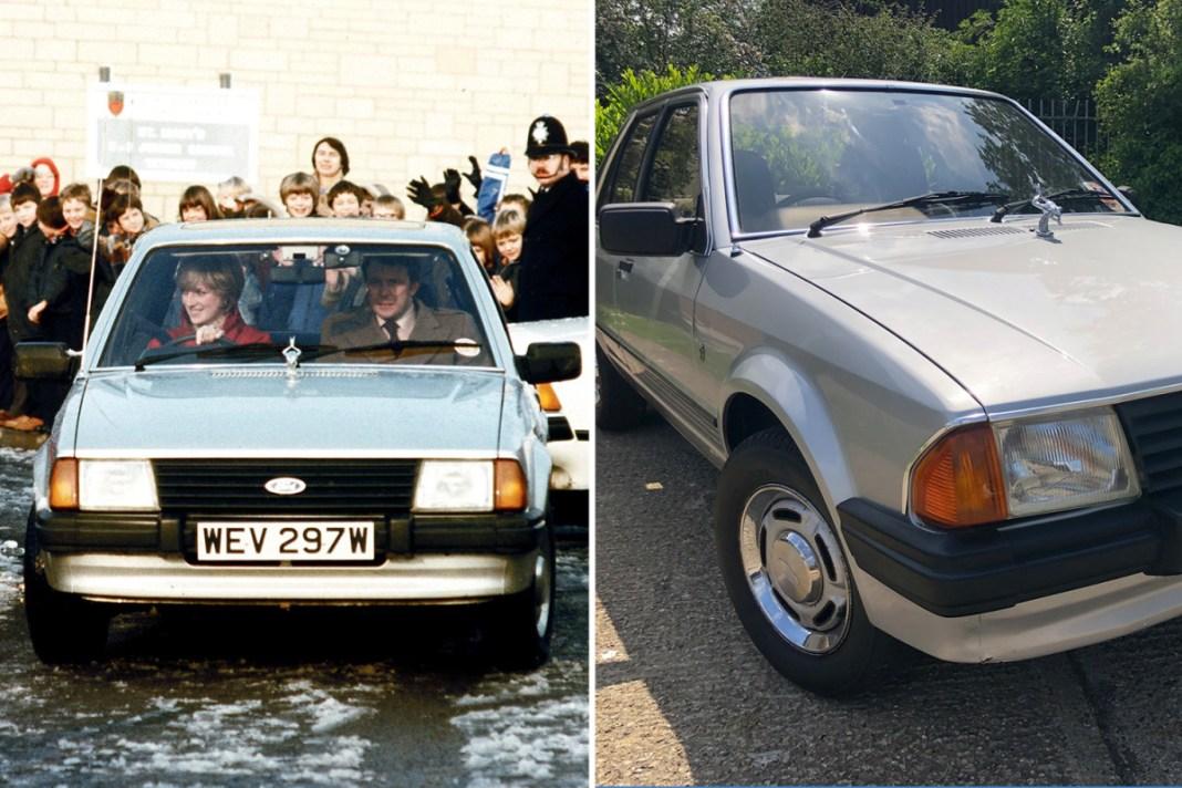 Maşina primită de prinţesa Diana cadou de logodnă, vândută la licitaţie