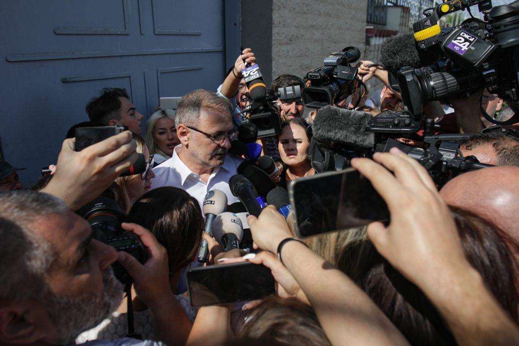 """Liviu Dragnea a ieșit din închisoare: """"Mă consider un deținut politic"""" ( Foto: INQUAM-INSTANT/Octav Ganea)"""