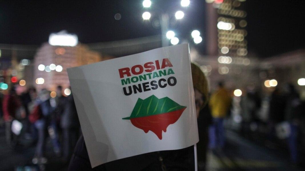 Decizia de înscriere a sitului Roşia Montană a fost luată fără obiecții și fără amendamente