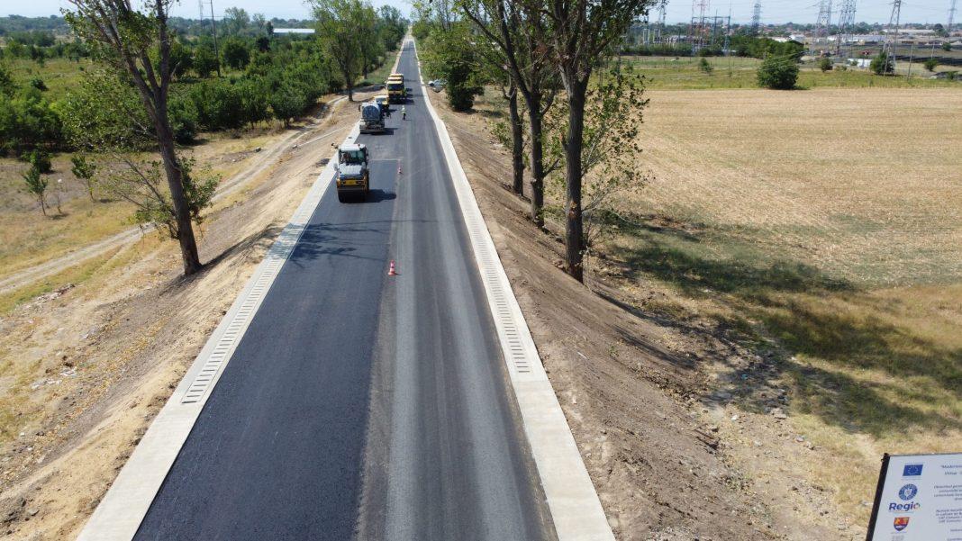 Tronsonul II al drumului Craiova - Cetate prinde contur