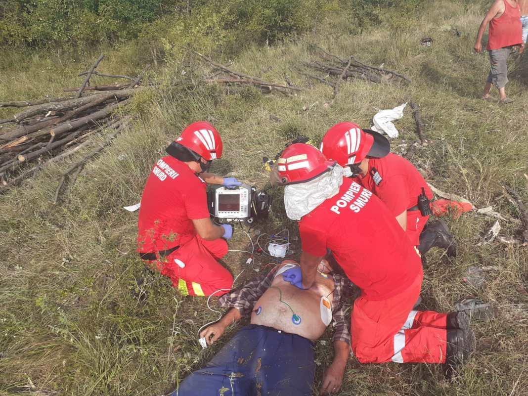 Vâlcea: Un bărbat a murit strivit de căruță în pădure