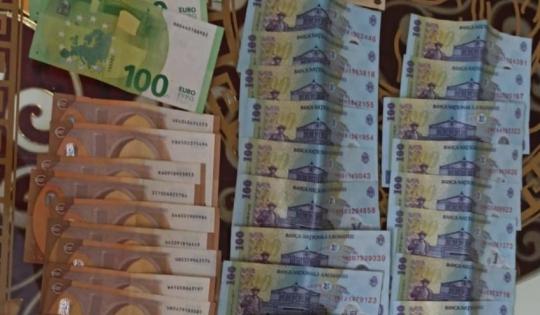 Prejudiciul cauzat este de aproximativ 100.000 de euro