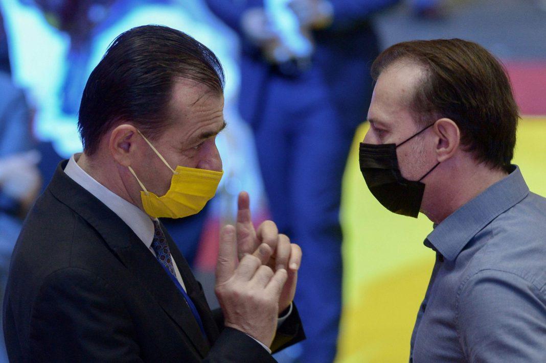 Cîțu și Orban se contrazic de la distanță