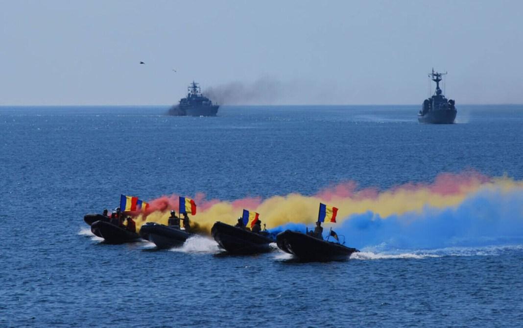 Klaus Iohannis și Florin Cîțu, prezenți la festivitățile de Ziua Marinei Române