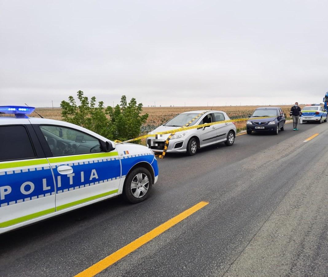 La fața locului, s-au deplasat efective sporite de polițiști, desfășurându-se activități complexe pentru identificarea autoturismului în cauză și depistarea femeii