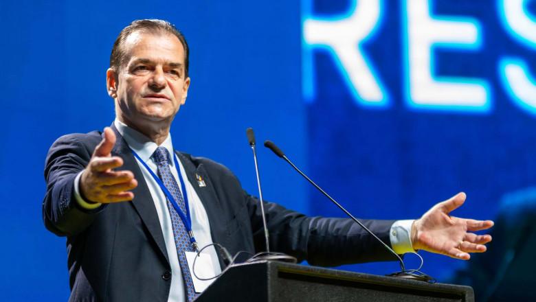 Orban, la Congresul PNL: PNL a dus o luptă de zi cu zi, săptămână cu săptămână, lună cu lună împotriva PSD şi a reuşit să înfrângă această ciumă roşie