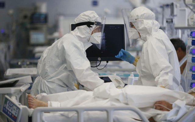 Doar 24 de paturi libere la ATI COVID în spitalele din România