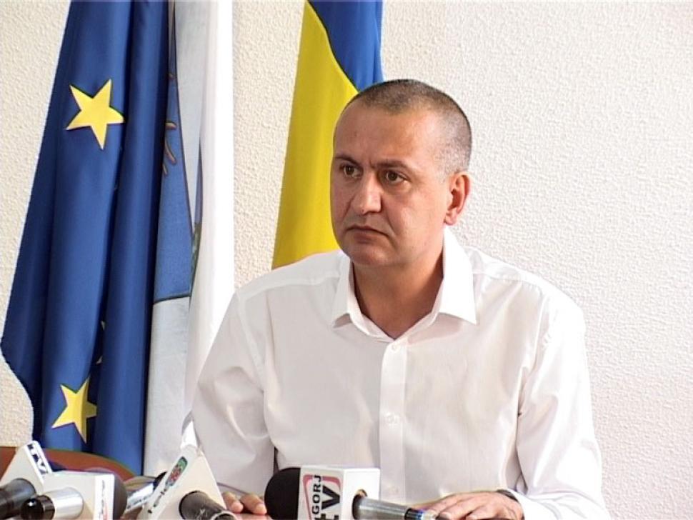 Președintele Consiliului Județean (CJ) Gorj, Cosmin Popescu