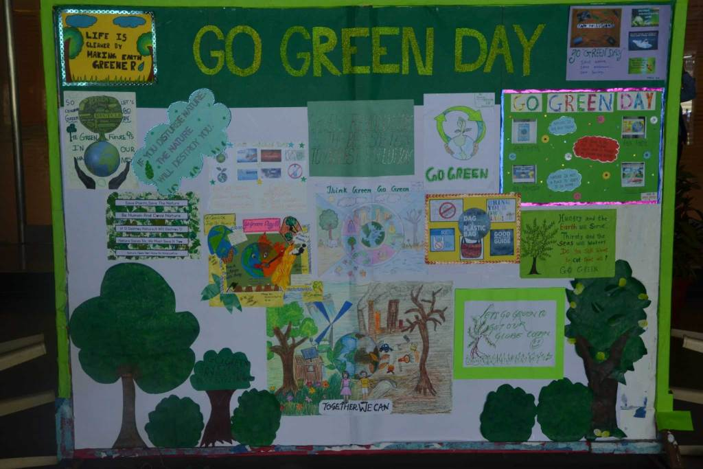 Go Green Day 2018
