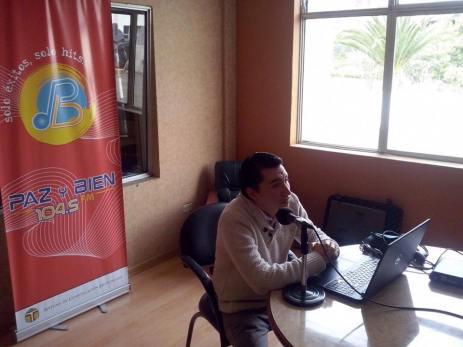 Entrevista Radio Paz y Bien Noticia 2.1