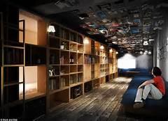 Le bibliothèque-hôtel, le nouveau concept hôtelier au Japon