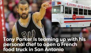 NBA. Tony Parker se lance dans la restauration à San Antonio