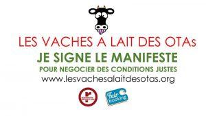 Signer la pétition Les Vaches à laits des OTAs