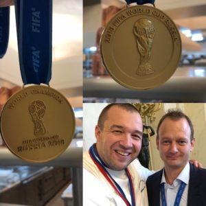 Xavier Rousseau Champion du monde avec les bleus