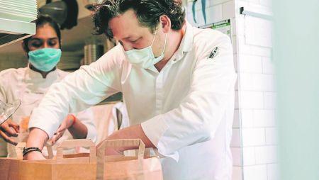 Coronavirus :les restaurants ont commencé à se réinventer