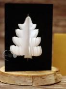 weihnachtskarte Tannenbaum Detail logo