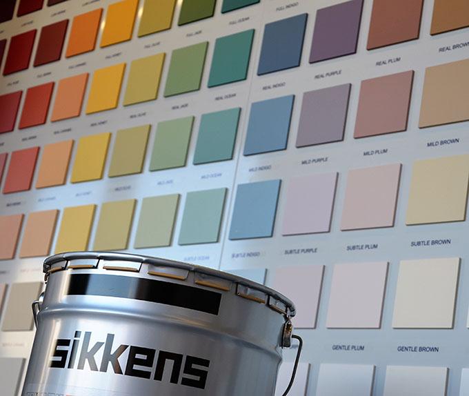 Vendita cartella colori sikkens 5051 color concept per. Servizi Gealcolor Concessionario Ufficiale Sikkens Roma E Provincia
