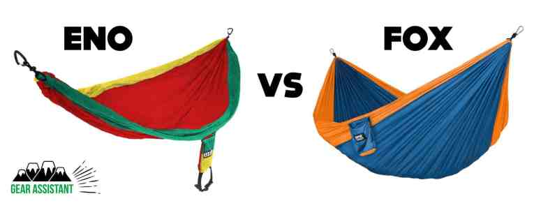 Fox Outfitters Neolite Trek Camping Hammock Vs ENO Backpacking Hammock