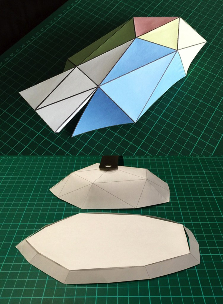 Exotent Story - Inflatable tent paper mock ups